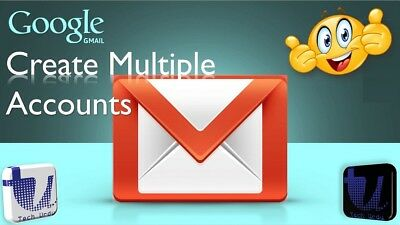 Google Email Account confirmed by phone number by SMS for Gmail, Play, YouTube