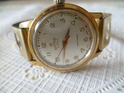 Vintage Roamer 17 Jewels Super Shock Swiss Made Herren Uhr Handaufzug