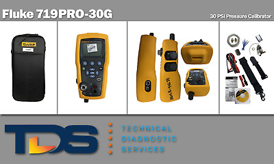 [USED] Fluke 719PRO-30G Electric Pressure Calibrator + Includes NIST Calibration