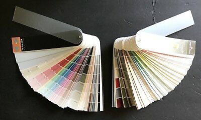 Benjamin Moore Fan Deck Clic Colors Sample Paint Swatch Color Preview Lot