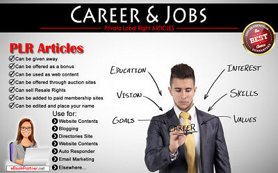 1200+ PLR Articles on Career and Jobs Niche Private Label Rights