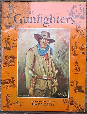 The Gunfighters Lea F McCarty 1959 Illustrated Jesse James Doc Holliday SC Book