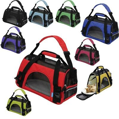 feccd0880dab Large Pet Carrier Soft Sided Cat /Dog Comfort Travel Tote Bag Airline  Approved