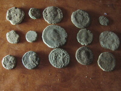 Ancient roman coins lot 3