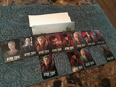 Dave and Busters - NEW Star Trek Villains - All Cards + Foil Holo - Gorn Limited