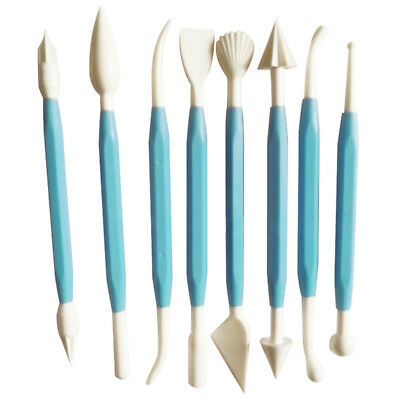 Christmas Gift for Kids Clay Sculpture Tools Fimo Polymer Clay Tool 8 piece B1I2