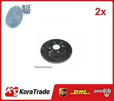 2x BLUE PRINT Brake Disc ADD64326