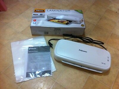 "Fellowes M1-95 Home and Office Pouch Laminator 9.5"" Pouch - New Open Box"