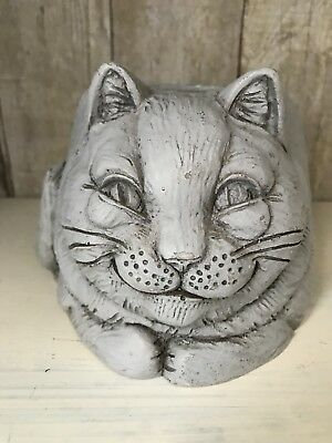 Stone Bunny Telle M. Stein Cat Candle Holder