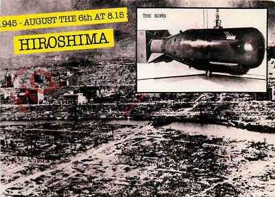 Picture Postcard; The Bombing Of Hiroshima