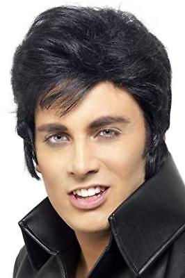(TG. One Size) SMIFFYS Elvis Parrucca - NUOVO