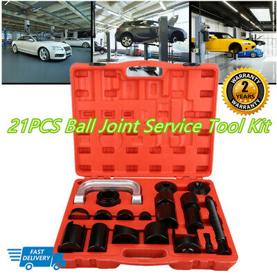 21 Pcs Press Truck Car Ball Joint Nice Deluxe Set Service Kit Remover Installer