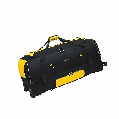 """30"""" Adventure by Travelers Club Luggage Rolling 2-Tone Multi-Pocket Large Pac..."""