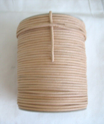 1 metre of Natural Round Leather Cord 3mm.