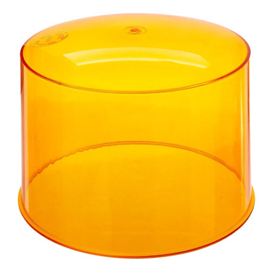 GROTE 90373 - Two Sealed-Beam Beacon Lens, Yellow