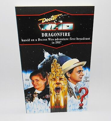 Doctor Who Dragonfire Target 137 Book Virgin Blue Spine 7th Dr Classic Series