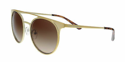 7084b7049ea6b MICHAEL KORS MK1030 116813 Shiny Pale Gold Round Sunglasses -  91.62 ...