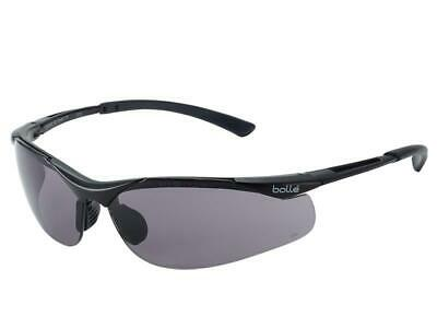 Bolle Safety CONTOUR Safety Glasses - Smoke BOLCONTPSF