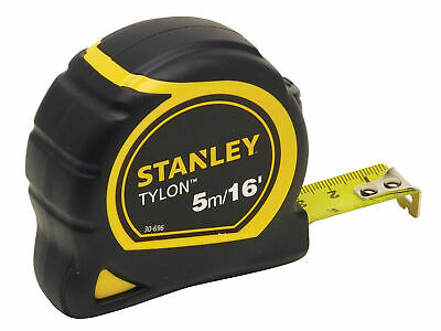 Stanley Tools Tylon Pocket Tape 5m/16ft (Width 19mm) Loose STA130696N