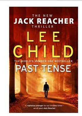 Past Tense: (Jack Reacher 23) Hardcover – PRE ORDER NOW Nov 5 2018 Release Day