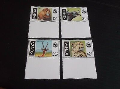 Kenya 1998 Sg 753-756 18Th Anniv Of Pan Africa Postal Union Mnh