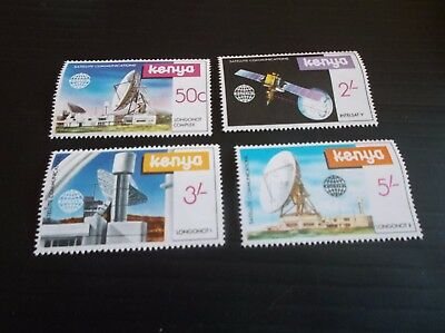 Kenya 1981 Sg 197-200 Satellite Communications Mnh