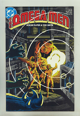 Omega Men #10 VG+ Smith, Decarlo, 1st Full Lobo