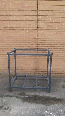 Metal storage stillage. 40mm box. very strong. stackable.