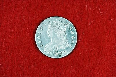 Cyberspacecoins 1830 Nice Grade Early Capped Bust Liberty Half Dollar