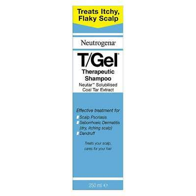 Neutrogena T/Gel Therapeutic Shampoo Large 250ml Treats Itchy, Flaky Scalp