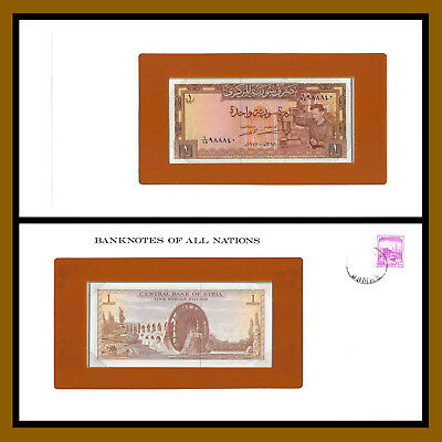 Syria 1 Pound, 1978 P- Banknotes of all Nations Unc