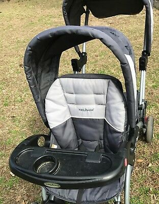 FRONT SEAT & CANOPY for Baby Trend Sit N Stand Double Stroller