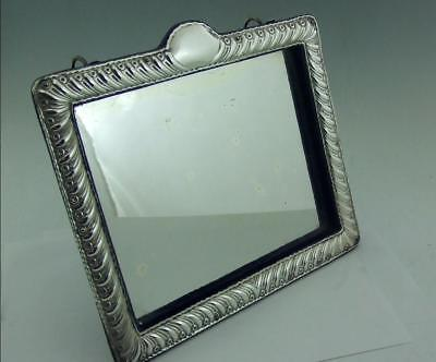 Victorian Solid Silver Table Or Wall Mirror William Comyns 1893