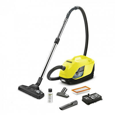 Kärcher 1.195-220.0 DS 6 Cylinder vacuum 650W A Black - Yellow 60W - 10.2m -