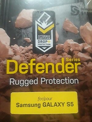 OtterBox Rugged Case Cover For Samsung Galaxy S5 (Defender Symmetry Commuter)