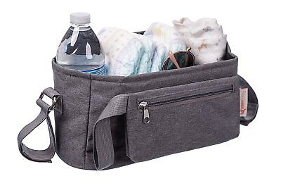 Baby Stroller Organizer by BabyBubz Buggy Bag Universal Fit extra-durable stitch