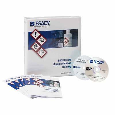 Brady Corporation 132428 GHS Hazard Communication Training Program Kit