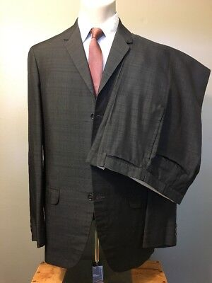 Vtg 1960s 60s 3-button Mod Suit Mens 40-ML Grey Silk Fleck Hong Kong W-32 L-32