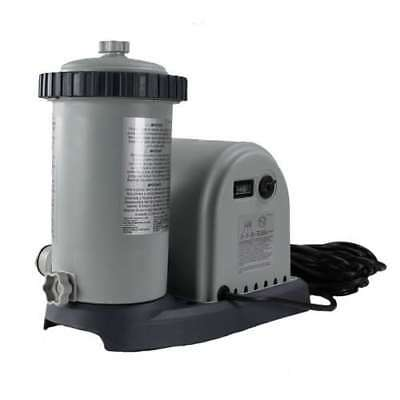 Intex 1500 GPH Easy Set Pool Filter Pump w/Timer & GFCI | 28635EG (For Parts)