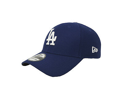 10e26bd7a70 NEW ERA 39Thirty LA Dodgers Diamond Royal Blue Stretch Fitted Cap Adult Men  Hat