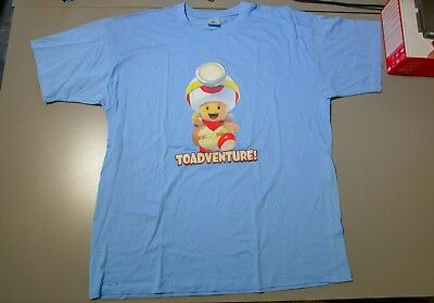 Captain Toad: Treasure Tracker Toadventure! Official T-Shirt L (Large)