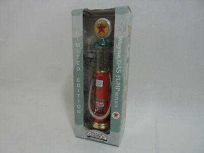 Limited Edition Wayne Texaco Sky Chief 1/12 Scale Glass Style Gas Pump Die Cast