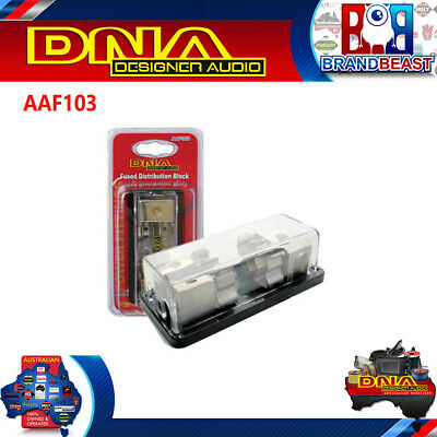 Dna Aaf103 1 In - 2 Out Fused Distribution Block Wiring AAF103