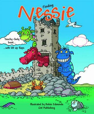 Finding Nessie by Cameron Scott Hardback Book The Cheap Fast Free Post