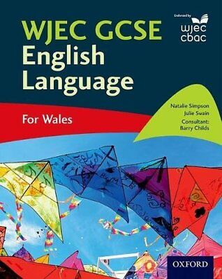 WJEC GCSE English Language: For Wales by Childs, Barry Book The Cheap Fast Free