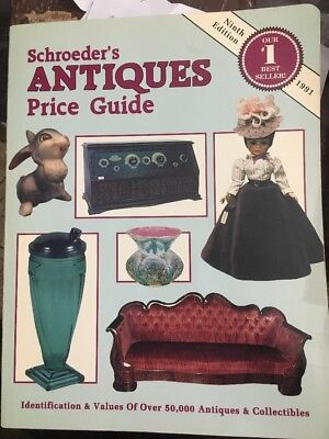 Schroeder's Antiques Pride Guide 9th Edition 1991