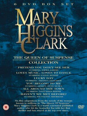 MARY HIGGINS CLARK - The Queen of Suspense 6DVD Collection - DVD  Q4VG The Cheap