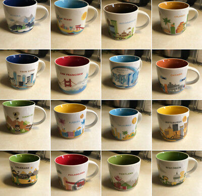 Starbucks You Are Here Collection Mugs (Multiple to choose from)