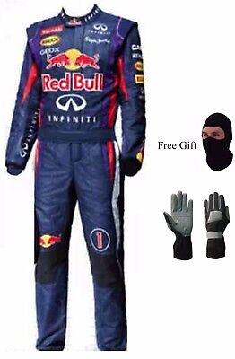 Go Kart Race Suit New Design Red Bull