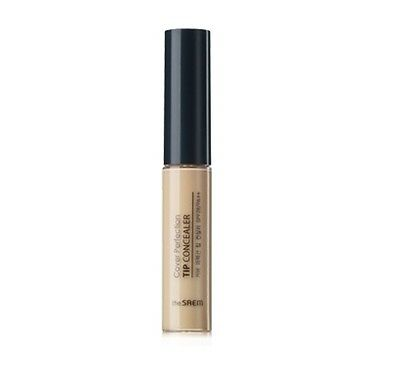 [The Saem]Cover Perfection Tip Concealer 6.5g (#1 Clear Beige ) -Korea cosmetics